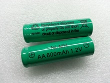 NIMH AA 600mAh 1.2v industrial battery
