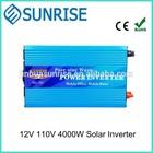 12V DC to 110V AC 4000W Solar Power Inverter