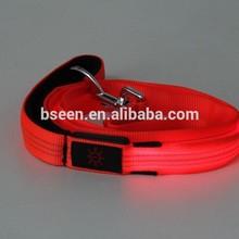 2014 new pet dog products high quality flash led sex dog leash collar