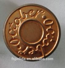 19mm brass shank button / button factory / FOSHAN factory