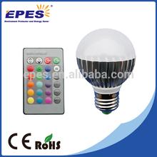 Long Lifespan Low Cost led rgb bulb E27