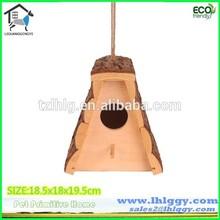 Chino profesional molino desarrollar todo tipo de la corteza colgante de madera de keychain del birdhouse