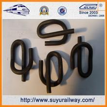 Suyu elástico del carril del clip de ferrocarril pinza de sujeción