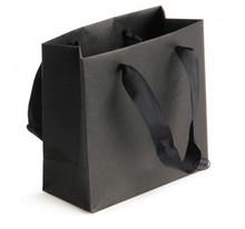 2015 luxury black kraft large gift bag for shopping