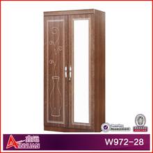 W972-28 wardrobe laminate designs for bedroom