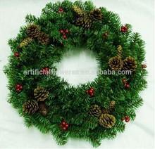 Artificial Christmas Wreath decoration wholesale