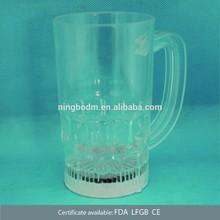 450ml led beer plastic mug