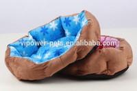 Super-soft Short plush Eco-Friendly Winter Warm Octagonal nest Pet Beds Dog Kennel Cushion for Dog/ Cat
