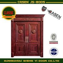 Casen Mahogany exterior solid wood door