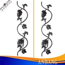 alibaba wrought iron hot selling rosette component photo 6283