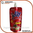 Custom printed food grade poly bag for jelly