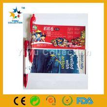 magic color promotional pen,slogan ball pen,new promotion flag pen