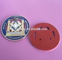 Freemason Master MASON Metal Enamel Rear Car Auto Emblem(BOX- freemason car badge-256b)