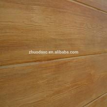 Fireproof & waterproof wood grain exterior decorative wall panel