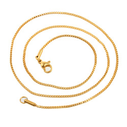 fashionable necklace stainless steel new gold chain design for men