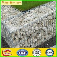 hot dipped galvanized welded gabion/welded gabion box/gabion wall construction, low price