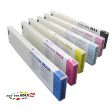 Eco Sol Max Ink Cartridge 440ML Plug and Play Odorless Eco Ink for dx5 printhead eco-solvent price