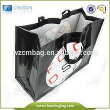 pp woven shopping tote bag,,europe standard laminated china pp woven bag