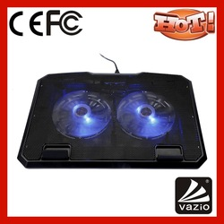 Plastic e pad laptop desk for laptop with cooling fan and mouse pad iDock B02