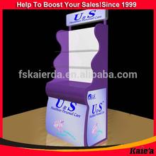 Hot Sale Folding Shelf/free Standing Display Unit/free Standing Floor Display