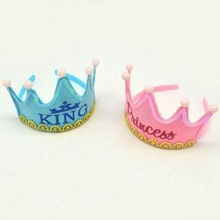 king /princess happy birthday LED headband