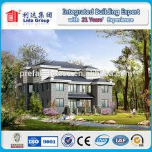 Cheap Prefabricated LGS villa apartments building modular homes