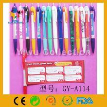 white plastic pen,advertising ball point pen,pull out pen