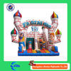 heavy duty side cheap inflatable water slides with custom cartoon inflatable bounce castle slide for kids