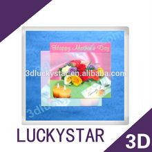 wedding 3d lenticular pop up greeting card