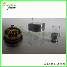 2014 best ecig rda aris rebuild atomizer 510 drip tips copper pin aris rda made in China