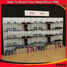 Glass Shoes Shelf Commercial Shoe Rack/Hanging Shelf Shoes