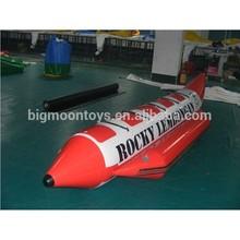 2015 hot summer inflatable boat water game banana boat