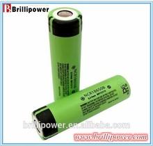 Brillipower 3.7v 3400mah rechargeable 18650 li ion battery