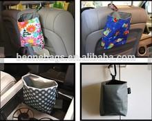 Car Seat Nylon Fabric Car Trash Bag
