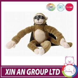 wholesale customed soft stuffed plush monkey