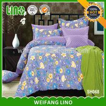 pigment printed cotton sultan sandane round bed adult cartoon bedding set/bedspread turkey