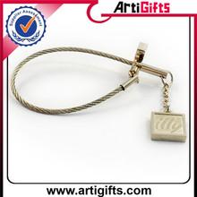 New fashion metal heart shaped photo frame key chain