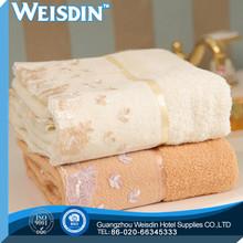 stripe manufacter 100% cotton dark super soft cotton towel