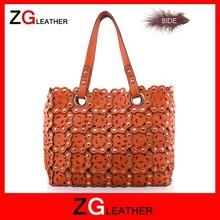 2015 New arrival unique design floral handbags for women