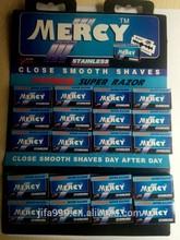 Milagro sólido de seguridad de dos filos de la maquinilla de afeitar cuchillas venta al por mayor