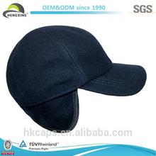 6 Panel Fancy Baseball Caps Earflap/Wholesale Baseball Cap Hats