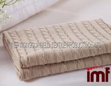 Sweet Knit Crochet Organic Cotton Baby Blanket