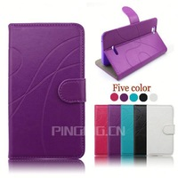 factory price flip leather cover case for samsung galaxy centura s738c