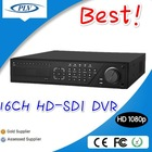 PLV 2.1mp hd-sdi dvr h 264 rohs conform,16 channel net viewer dvr