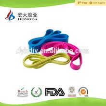 Hot resistance rubber bands