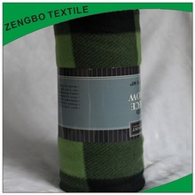 Most popular pure color printed fleece blanket with low price