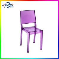 High Precision Factory Plastic Ghost Chair Injection mold For European Market