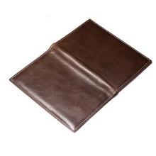 2015 High Quality Fashion Custom Multifunction Carton Passport Holder Leather passport cover