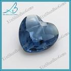 Delicate blue heart cutting wholesale diamonds
