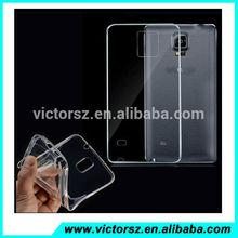 TPU Silicone Gel Clear Phone Case For Samsung Galaxy Note 4 N9100